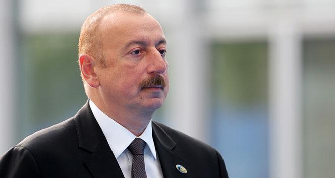 Aliyev'den, Cumhurbaşkanı Erdoğan'a 'geçmiş olsun' telefonu