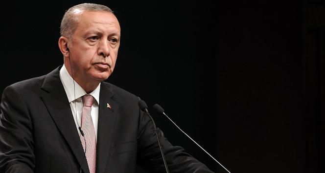 Cumhurbaşkanı Erdoğan, Fayiz Es-Serrac ile görüştü