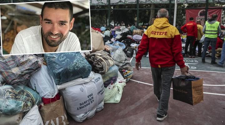 Depremde arkadaşlarını kaybeden Göztepeli taraftarlar yardım kampanyası başlattı