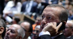 KKTC Cumhurbaşkanı Tatar, Cumhurbaşkanı Erdoğan'ı arayarak geçmiş olsun dileklerini iletti