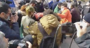 Ankara'da öğrencilerin Boğaziçililere destek için düzenlediği eyleme polis müdahalesi