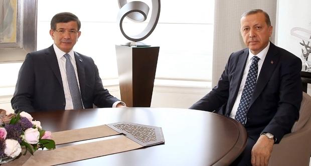 Cumhurbaşkanı Erdoğan, Başbakan Davutoğlu'nu kabul edecek