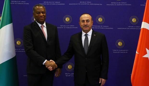 Dışişleri Bakanı Çavuşoğlu, Nijeryalı mevkidaşı Onyeama ile telefonda görüştü