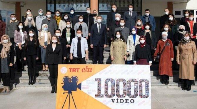 EBA TV ikinci dönem videolarının çekimleri tamamlandı