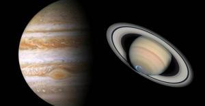 Jüpiter ve Satürn 21 Aralık'ta Birleşecek