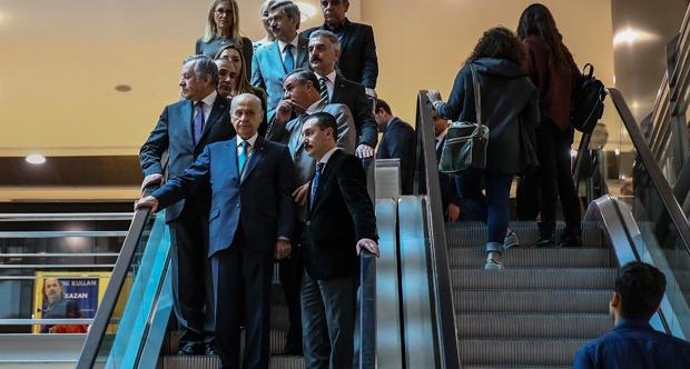 MHP lideri Bahçeli'den AVM mesajı: İnadına alışveriş merkezine gelin