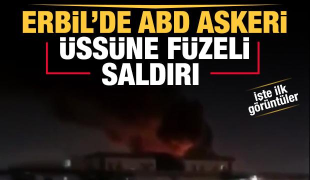 Son Dakika... Erbil'de füze saldırısı