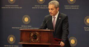 Sözcü Aksoy'dan Kosova'nın Kudüs'te Büyükelçilik açma taahhüdüne tepki