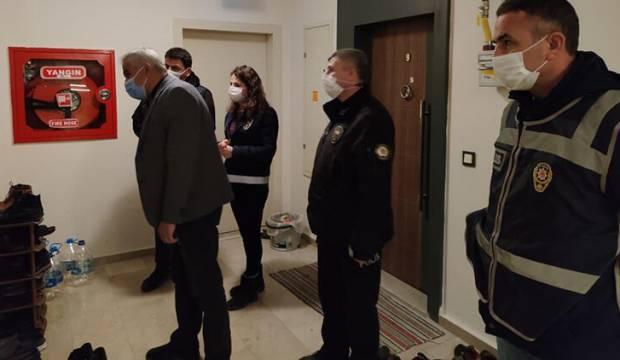 Amasya'da evlerde misafir denetimi
