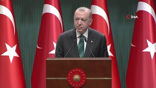 Cumhurbaşkanı Erdoğan: 'Geleceğin otomotiv sanayisinde elektrikli ve bağlantılı ticari araçların en büyük üretim merkezi Türkiye olacaktır'
