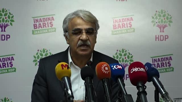 HDP Eş Genel Başkanı Sancar kanaat önderleriyle buluştu