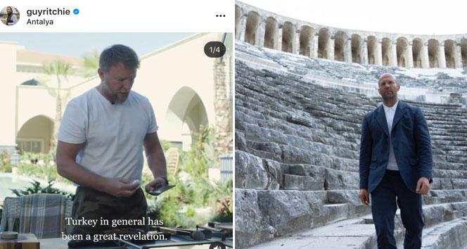 Jason Statham ve ünlü yönetmenden 'Türkiye' paylaşımı