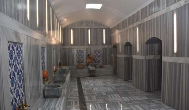 Kızılcahamam'da kaplıca hamamları açılıyor