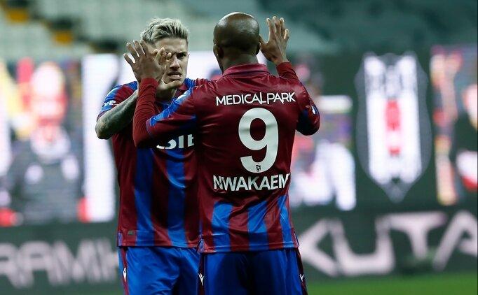 Trabzonspor'un forvetteki en istikrarlı ismi: Nwakaeme
