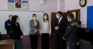 İGÜ köy okullarına teknoloji sınıfı kurdu