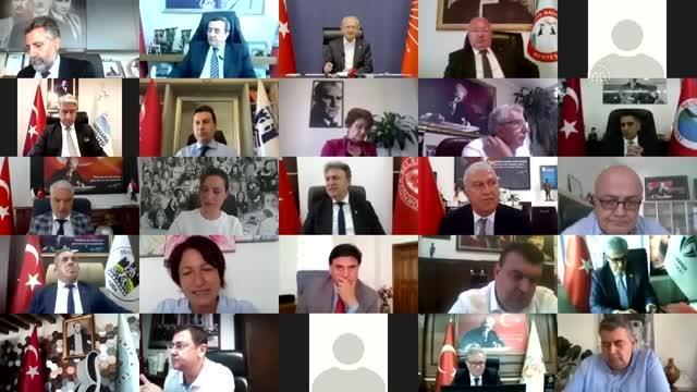 CHP Genel Başkanı Kılıçdaroğlu, Ege Bölgesi'ndeki partili belediye başkanlarıyla görüştü