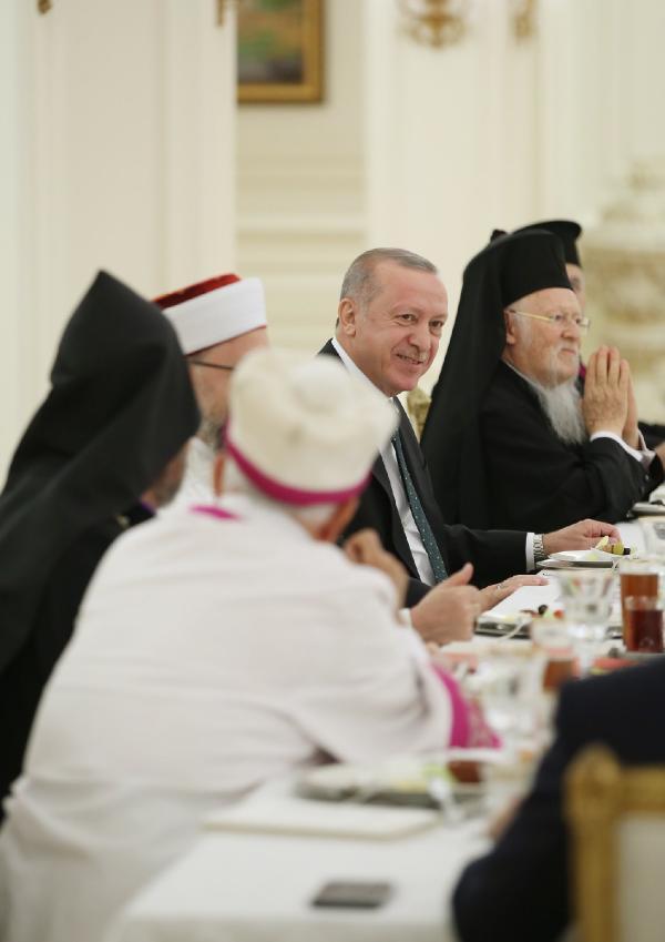 Son dakika haber: Azınlık cemaatleri temsilcilerinden Cumhurbaşkanı Erdoğan'a teşekkür