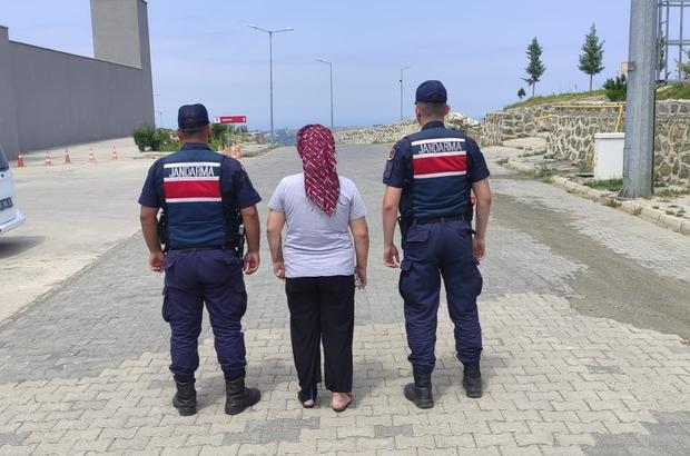3 yıl 9 ay kesinleşmiş hapis cezası bulunan kadın yakalandı